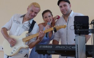 Partyband Just Music - Andy-Danja-Marco Kopie